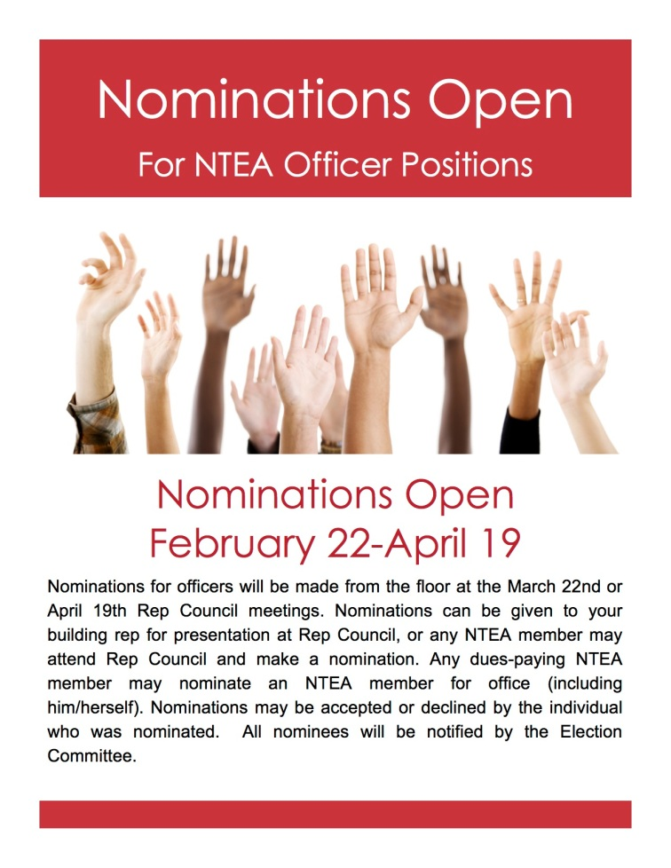 Nomination Flyer